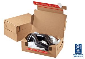 Return Box mit Rücksendeverschluss