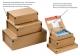 Paket-Versandkarton, braun