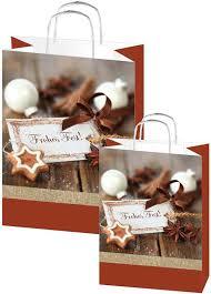 Weihnachtstaschen Frohes Fest<br/>Papiertragetasche