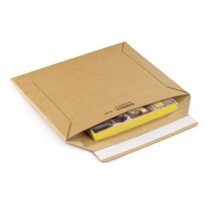 Karton-Versandtaschen mit Haftklebeverschluss