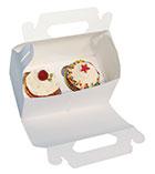 Kuchenbox mit Frontklappe weiß