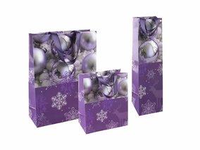 Weihnachtstaschen Purple X-MAS