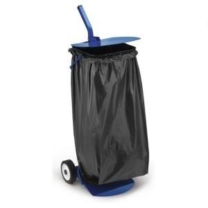 Müllsack-Ständer auf Rollen