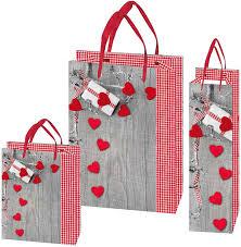 Weihnachtstaschen Sweetheart<br/>mattplastifiziert