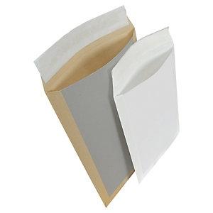 Versandtaschen mit Papprückwand