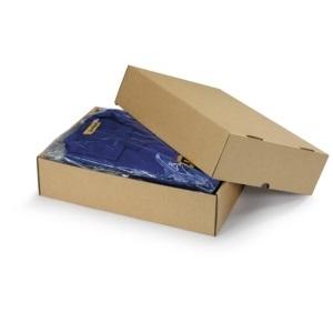 Stülpdeckelkartons in braun oder weiß