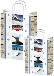 Weihnachtstaschen Wintertime<br/>Papiertragetasche
