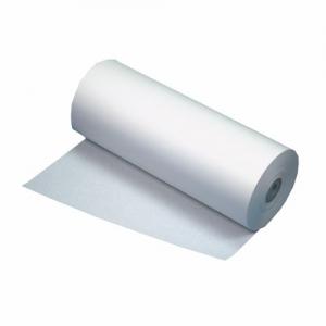 Weiße Packpapiere auf der Rolle